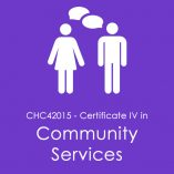 Certificate IV in Community Services